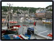 Boats In Looe Harbour
